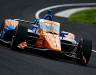 Dixon sets the pace in second day of Indianapolis 500 practice