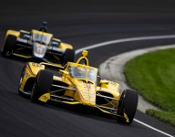 Herta, McLaughlin trip over Indy photo-op
