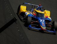 Rossi tops no-tow leaderboard on Fast Friday at Indy