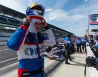 Practice form has Rahal fired up for Indy 500