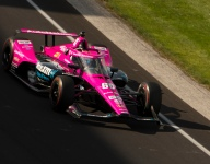 Harvey tops Indy qualifying warm-up session