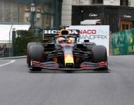 Verstappen leads Ferrari pair in Monaco FP3; heavy crash for Schumacher