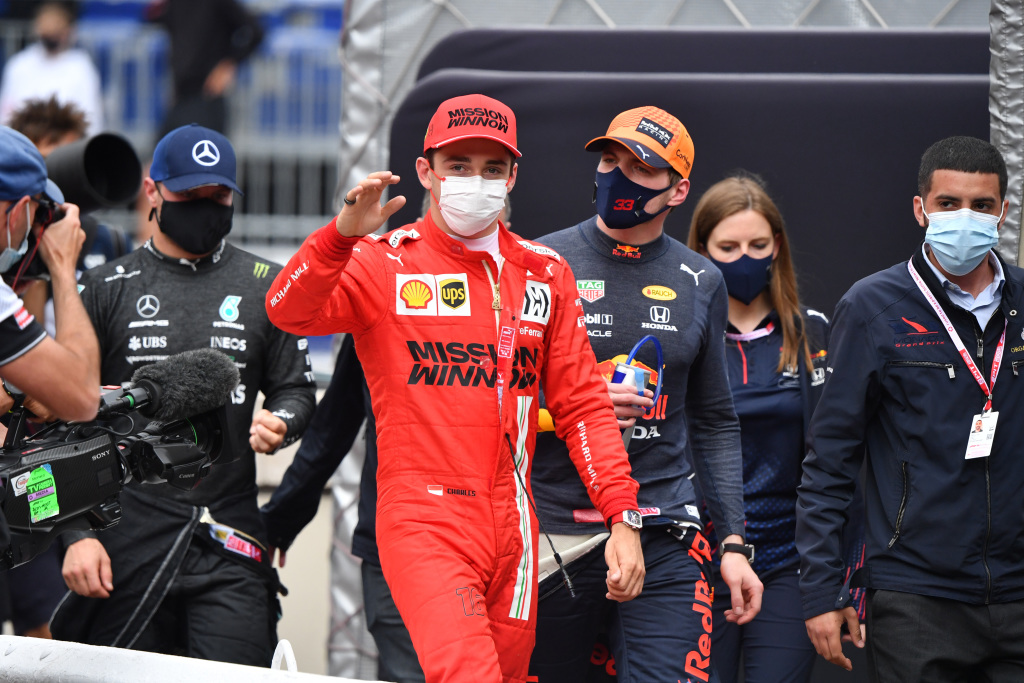 Verstappen sees no intent from Leclerc: 'I've ended up there twice!' | RACER