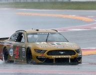 Harvick left fuming over NASCAR's decision to race in rain at COTA