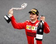 P2 bittersweet for Sainz despite first Ferrari podium