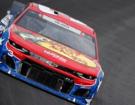 Austin Dillon tops lone Cup practice at Charlotte