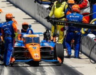 Domino effect from Wilson pit incident spoils Dixon's Indy chances