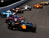 O'Ward loses third by risking it all at Indy