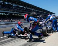 Loose wheel wrecks Rahal at Indy