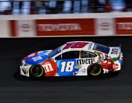 Kyle Busch satisfied with being best of the rest after a Hendrick stampede