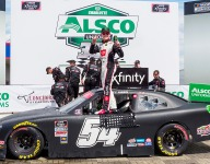 Gibbs wins at Charlotte for second NASCAR Xfinity triumph