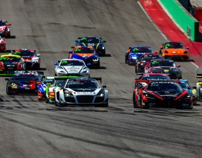 McLaren, inception racing capture first GT America win at COTA