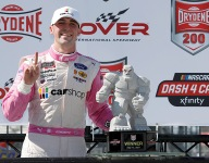 Cindric collects third Xfinity win of the season at Dover