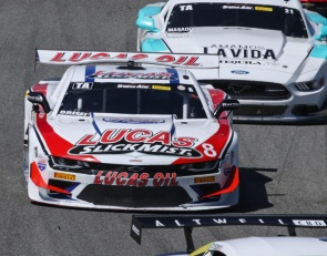 Dramatic finish in Trans Am gives Tomy Drissi the win at Laguna Seca