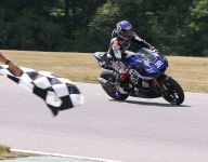 Gagne takes third straight with dominant VIR victory