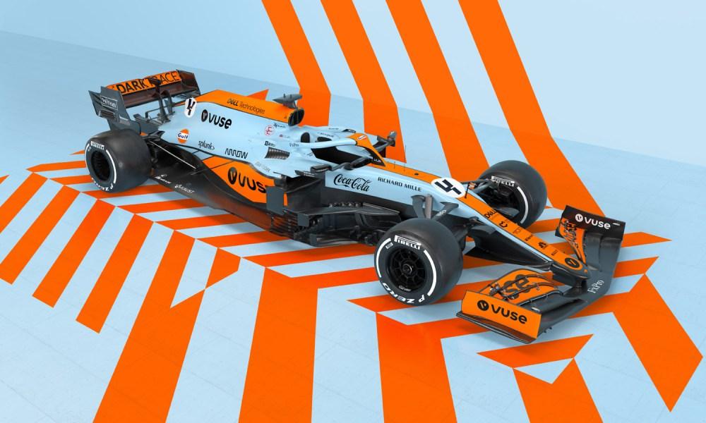 McLaren Monaco livery