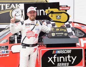 Allgaier pulls off dramatic overtime Xfinity win at Darlington