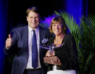 St James honored with Spirit of Ford Award