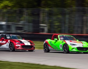 Nunes nabs first Mazda MX-5 Cup victory at Mid-Ohio