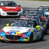 Rollan comes out on top of six-car battle for Mazda MX-5 Cup win at Mid-Ohio
