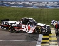 Kyle Busch grabs 61st Truck win at Kansas Speedway