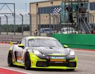 NOLASPORT Porsche dominates red flag-affected GT4 Race 1 at COTA