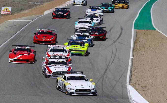 Trans Am Laguna Seca race replay