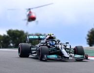 Bottas takes Portuguese GP pole after Verstappen loses top time