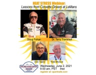 """Next Race Industry Now webinar: """"Heat Stress: Lessons From Corvette Drivers at Le Mans"""""""