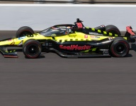 Jones tows Coyne to the top at midpoint of Fast Friday at Indy