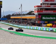 Hamilton on top, Verstappen ninth in Spanish GP practice 2