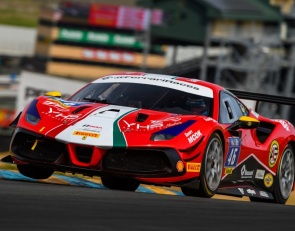 Grids are set for first Ferrari Challenge races at Sonoma