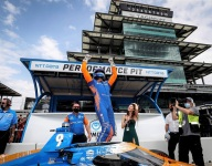 Dixon saves his best for last to win Indianapolis 500 pole