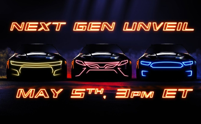 NASCAR Next Gen reveal live stream