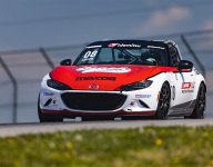 Carter takes Mazda MX-5 Cup pole at Mid-Ohio