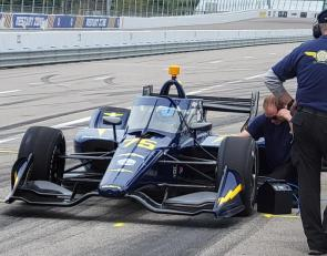 Top Gun Racing makes test debut ahead of Indy 500 entry