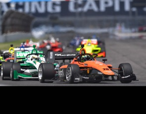 Indianapolis first-timer Lundqvist blitzes Indy Lights field