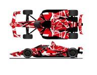 The Eddie Van Halen Indy 500 tribute car that wasn't
