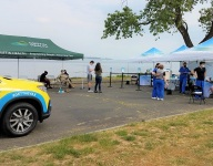 Lime Rock Park hosts COVID vaccination site during Memorial Day weekend