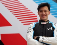 Zhou to make FP1 debut for Alpine in Austria