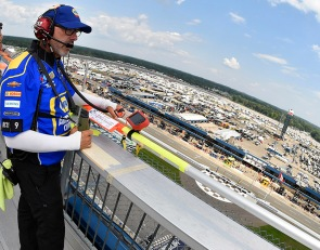 NASCAR spotter D'Hondt reinstated, cleared of charges