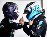 Hamilton starts Mercedes contract talks, wants Bottas to stay