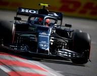 Gasly leads third Baku practice; Verstappen crashes