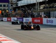 Perez wins Baku GP after Verstappen tire failure
