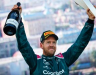 First Aston podium 'means a great deal' - Vettel