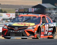 Truex Jr 'not quite good enough' after third-place finish at Sonoma