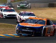 Logano 'in the ballpark' after fourth-place finish at Sonoma