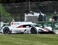Mazda leads Detroit warm-up session