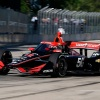 Power paces lone IndyCar practice in Detroit