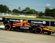 O'Ward takes Detroit Race 1 pole